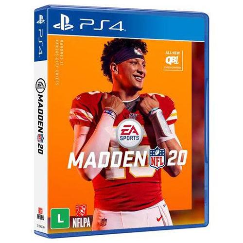 Jogo Madden Nfl 20 - Playstation 4 - Ea Sports